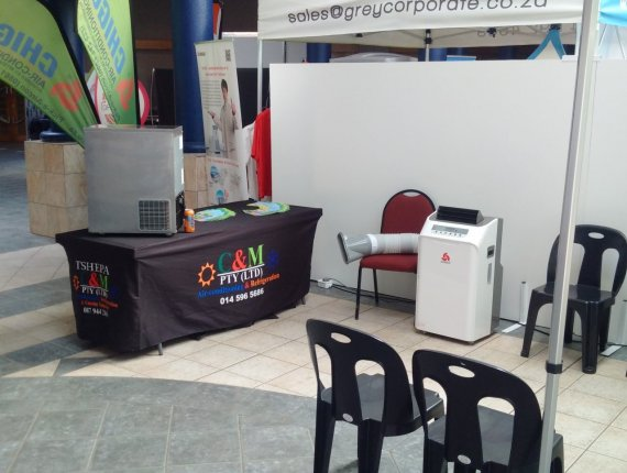 C & M Air-conditioning Rustenburg - Mining & Industrial Exhibition | image 5