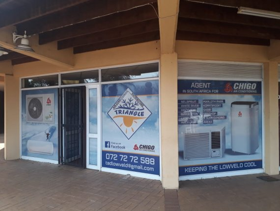 New offices for Triangle Air-Conditioning- Chigo Agent - Sabie, Nelspruit & Surrounding Areas Featured Image