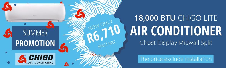 Chigo Air - Conditioning Summer Promo 18,000 BTU